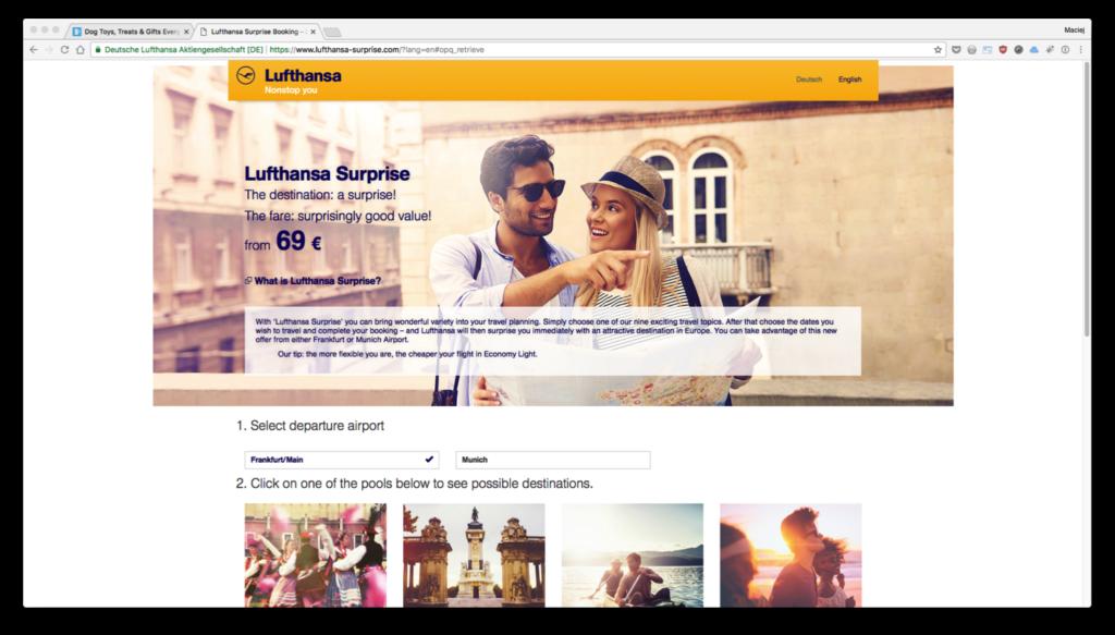 Lufthansa Suprise